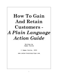 Gain and retain customers for your business