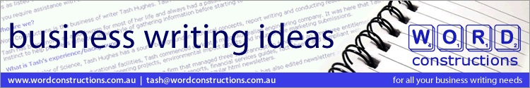 business writing ideas from Word Constructions